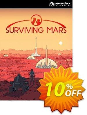 Surviving Mars PC (EU) Coupon discount Surviving Mars PC (EU) Deal 2021 CDkeys