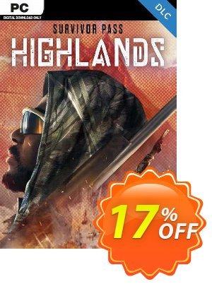 Survivor Pass: Highlands PC - DLC Coupon discount Survivor Pass: Highlands PC - DLC Deal 2021 CDkeys