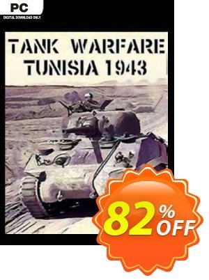 Tank Warfare: Tunisia 1943 PC discount coupon Tank Warfare: Tunisia 1943 PC Deal 2021 CDkeys - Tank Warfare: Tunisia 1943 PC Exclusive Sale offer for iVoicesoft
