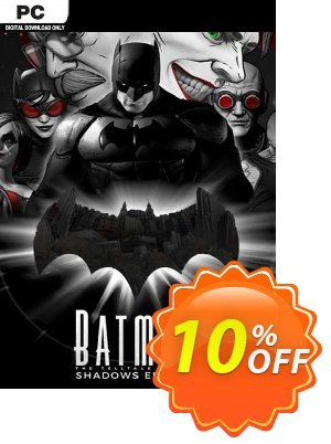 Telltale Batman Shadows Edition PC discount coupon Telltale Batman Shadows Edition PC Deal 2021 CDkeys - Telltale Batman Shadows Edition PC Exclusive Sale offer for iVoicesoft