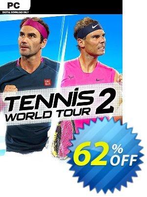Tennis World Tour 2 PC (EU) discount coupon Tennis World Tour 2 PC (EU) Deal 2021 CDkeys - Tennis World Tour 2 PC (EU) Exclusive Sale offer for iVoicesoft