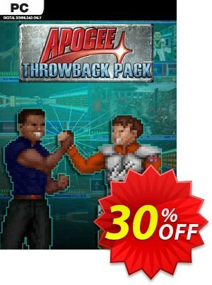 The Apogee Throwback Pack PC Coupon discount The Apogee Throwback Pack PC Deal 2021 CDkeys
