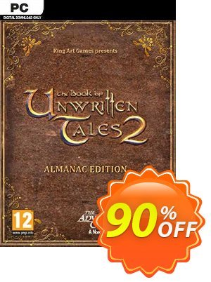 The Book of Unwritten Tales 2 Almanac Edition PC discount coupon The Book of Unwritten Tales 2 Almanac Edition PC Deal 2021 CDkeys - The Book of Unwritten Tales 2 Almanac Edition PC Exclusive Sale offer for iVoicesoft
