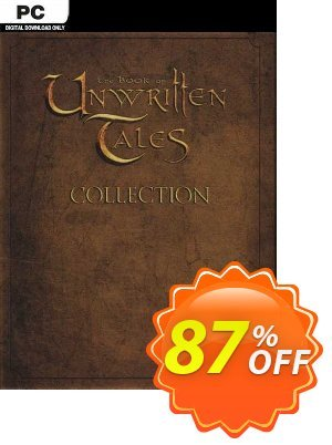 The Book of Unwritten Tales Collection PC discount coupon The Book of Unwritten Tales Collection PC Deal 2021 CDkeys - The Book of Unwritten Tales Collection PC Exclusive Sale offer for iVoicesoft