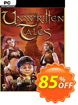 The Book of Unwritten Tales Digital Deluxe Edition PC Coupon discount The Book of Unwritten Tales Digital Deluxe Edition PC Deal 2021 CDkeys