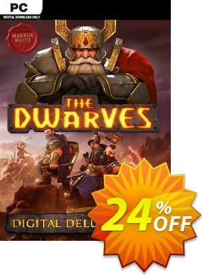 The Dwarves Digital Deluxe Edition PC discount coupon The Dwarves Digital Deluxe Edition PC Deal 2021 CDkeys - The Dwarves Digital Deluxe Edition PC Exclusive Sale offer for iVoicesoft