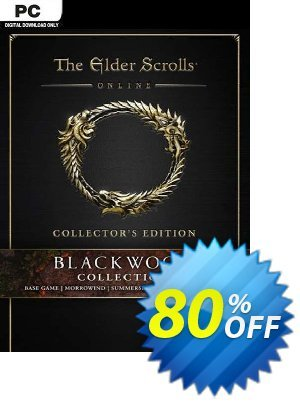The Elder Scrolls Online: Blackwood Collector's Edition PC discount coupon The Elder Scrolls Online: Blackwood Collector's Edition PC Deal 2021 CDkeys - The Elder Scrolls Online: Blackwood Collector's Edition PC Exclusive Sale offer for iVoicesoft