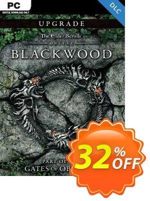 The Elder Scrolls Online: Blackwood Upgrade PC Coupon discount The Elder Scrolls Online: Blackwood Upgrade PC Deal 2021 CDkeys