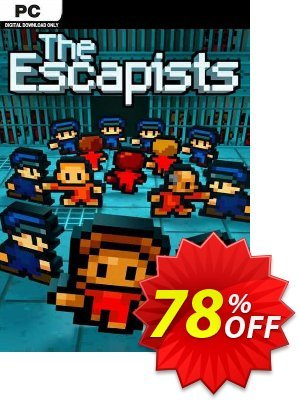 The Escapists PC discount coupon The Escapists PC Deal 2021 CDkeys - The Escapists PC Exclusive Sale offer for iVoicesoft