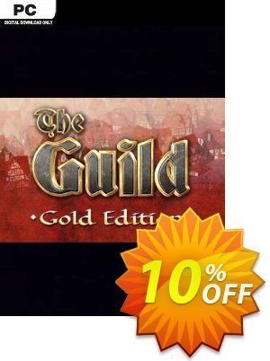 The Guild Gold Edition PC discount coupon The Guild Gold Edition PC Deal 2021 CDkeys - The Guild Gold Edition PC Exclusive Sale offer for iVoicesoft
