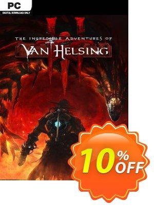 The Incredible Adventures of Van Helsing III PC Coupon discount The Incredible Adventures of Van Helsing III PC Deal 2021 CDkeys