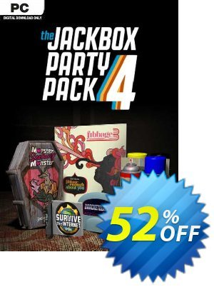 The Jackbox Party Pack 4 PC discount coupon The Jackbox Party Pack 4 PC Deal 2021 CDkeys - The Jackbox Party Pack 4 PC Exclusive Sale offer for iVoicesoft