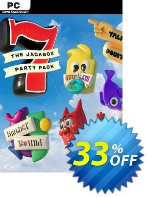 The Jackbox Party Pack 7 PC (EU) discount coupon The Jackbox Party Pack 7 PC (EU) Deal 2021 CDkeys - The Jackbox Party Pack 7 PC (EU) Exclusive Sale offer for iVoicesoft