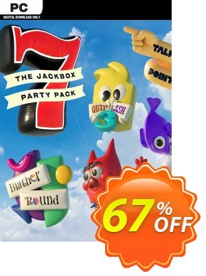 The Jackbox Party Pack 7 PC discount coupon The Jackbox Party Pack 7 PC Deal 2021 CDkeys - The Jackbox Party Pack 7 PC Exclusive Sale offer for iVoicesoft