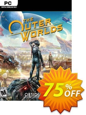 The Outer Worlds PC (Steam) discount coupon The Outer Worlds PC (Steam) Deal 2021 CDkeys - The Outer Worlds PC (Steam) Exclusive Sale offer for iVoicesoft