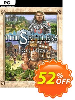 The Settlers: Rise of an Empire - History Edition PC (EU) discount coupon The Settlers: Rise of an Empire - History Edition PC (EU) Deal 2021 CDkeys - The Settlers: Rise of an Empire - History Edition PC (EU) Exclusive Sale offer for iVoicesoft