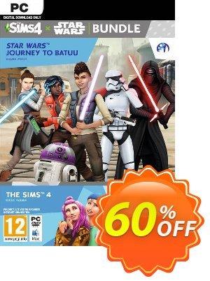 The Sims 4 + Star Wars: Journey to Batuu Bundle PC discount coupon The Sims 4 + Star Wars: Journey to Batuu Bundle PC Deal 2021 CDkeys - The Sims 4 + Star Wars: Journey to Batuu Bundle PC Exclusive Sale offer for iVoicesoft