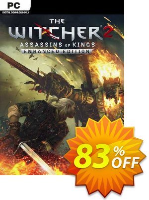 The Witcher 2: Assassins of Kings Enhanced Edition PC discount coupon The Witcher 2: Assassins of Kings Enhanced Edition PC Deal 2021 CDkeys - The Witcher 2: Assassins of Kings Enhanced Edition PC Exclusive Sale offer for iVoicesoft