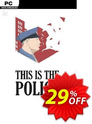 This Is the Police PC Coupon discount This Is the Police PC Deal 2021 CDkeys