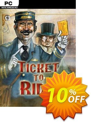 Ticket to Ride PC Coupon discount Ticket to Ride PC Deal 2021 CDkeys