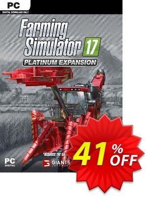 Farming Simulator 17 - Platinum Expansion PC Coupon discount Farming Simulator 17 - Platinum Expansion PC Deal 2021 CDkeys
