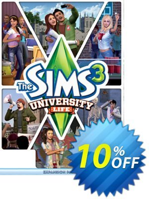 The Sims 3: University Life PC discount coupon The Sims 3: University Life PC Deal - The Sims 3: University Life PC Exclusive offer for iVoicesoft