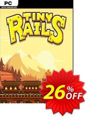 Tiny Rails PC Coupon discount Tiny Rails PC Deal 2021 CDkeys