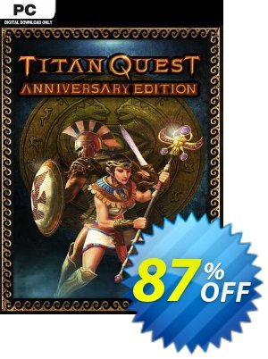 Titan Quest Anniversary Edition PC discount coupon Titan Quest Anniversary Edition PC Deal 2021 CDkeys - Titan Quest Anniversary Edition PC Exclusive Sale offer for iVoicesoft