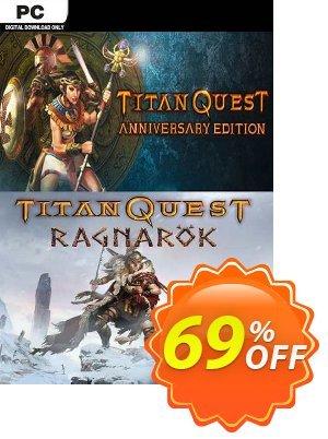 Titan Quest Anniversary + Ragnarok PC Coupon discount Titan Quest Anniversary + Ragnarok PC Deal 2021 CDkeys