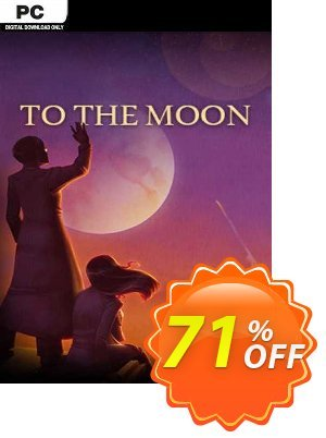 To the Moon PC discount coupon To the Moon PC Deal 2021 CDkeys - To the Moon PC Exclusive Sale offer for iVoicesoft