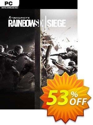 Tom Clancy's Rainbow Six Siege PC (US) Coupon discount Tom Clancy's Rainbow Six Siege PC (US) Deal 2021 CDkeys