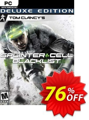 Tom Clancy's Splinter Cell Blacklist Deluxe Edition PC (EU) Coupon discount Tom Clancy's Splinter Cell Blacklist Deluxe Edition PC (EU) Deal 2021 CDkeys