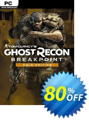 Tom Clancy's Ghost Recon Breakpoint - Gold Edition PC (EU) Coupon discount Tom Clancy's Ghost Recon Breakpoint - Gold Edition PC (EU) Deal 2021 CDkeys