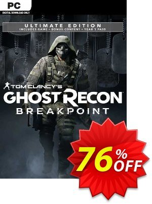 Tom Clancy's Ghost Recon Breakpoint - Ultimate Edition PC (EU) discount coupon Tom Clancy's Ghost Recon Breakpoint - Ultimate Edition PC (EU) Deal 2021 CDkeys - Tom Clancy's Ghost Recon Breakpoint - Ultimate Edition PC (EU) Exclusive Sale offer for iVoicesoft