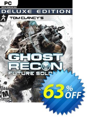 Tom Clancy's Ghost Recon Future Soldier - Deluxe Edition PC discount coupon Tom Clancy's Ghost Recon Future Soldier - Deluxe Edition PC Deal 2021 CDkeys - Tom Clancy's Ghost Recon Future Soldier - Deluxe Edition PC Exclusive Sale offer for iVoicesoft