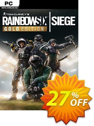 Tom Clancy's Rainbow Six Siege Year 4 Gold Edition PC (EU) discount coupon Tom Clancy's Rainbow Six Siege Year 4 Gold Edition PC (EU) Deal 2021 CDkeys - Tom Clancy's Rainbow Six Siege Year 4 Gold Edition PC (EU) Exclusive Sale offer for iVoicesoft