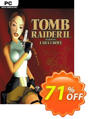 Tomb Raider 2 PC (EN) Coupon discount Tomb Raider 2 PC (EN) Deal 2021 CDkeys
