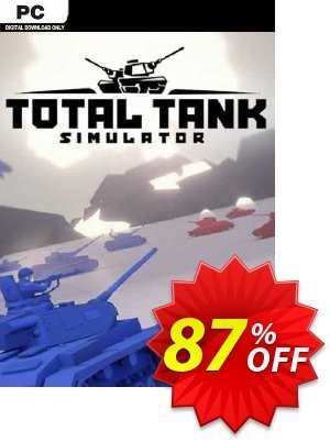 Total Tank Simulator PC discount coupon Total Tank Simulator PC Deal 2021 CDkeys - Total Tank Simulator PC Exclusive Sale offer for iVoicesoft
