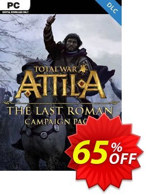 Total War: ATTILA - The Last Roman Campaign Pack PC (EU) discount coupon Total War: ATTILA - The Last Roman Campaign Pack PC (EU) Deal 2021 CDkeys - Total War: ATTILA - The Last Roman Campaign Pack PC (EU) Exclusive Sale offer for iVoicesoft