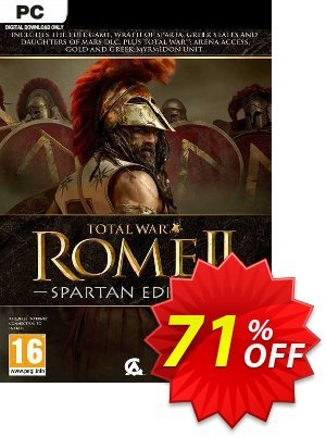 Total War Rome II - Spartan Edition PC (EU) discount coupon Total War Rome II - Spartan Edition PC (EU) Deal 2021 CDkeys - Total War Rome II - Spartan Edition PC (EU) Exclusive Sale offer for iVoicesoft