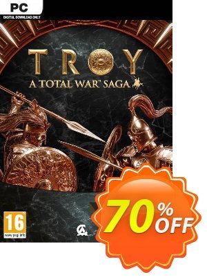 Total War Saga: TROY Limited Edition PC discount coupon Total War Saga: TROY Limited Edition PC Deal 2021 CDkeys - Total War Saga: TROY Limited Edition PC Exclusive Sale offer for iVoicesoft