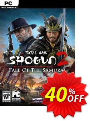 Total War Shogun 2: Fall of the Samurai PC (EU) discount coupon Total War Shogun 2: Fall of the Samurai PC (EU) Deal 2021 CDkeys - Total War Shogun 2: Fall of the Samurai PC (EU) Exclusive Sale offer for iVoicesoft