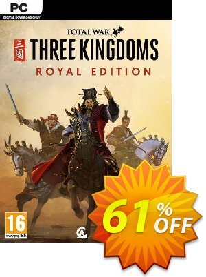 Total War: Three Kingdoms – Royal Edition PC discount coupon Total War: Three Kingdoms – Royal Edition PC Deal 2021 CDkeys - Total War: Three Kingdoms – Royal Edition PC Exclusive Sale offer for iVoicesoft
