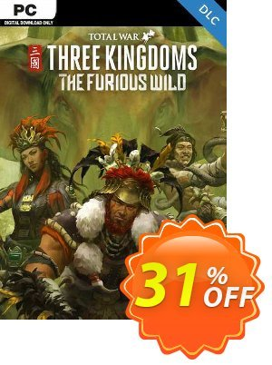 Total War Three Kingdoms - The Furious Wild PC - DLC (EU) discount coupon Total War Three Kingdoms - The Furious Wild PC - DLC (EU) Deal 2021 CDkeys - Total War Three Kingdoms - The Furious Wild PC - DLC (EU) Exclusive Sale offer for iVoicesoft