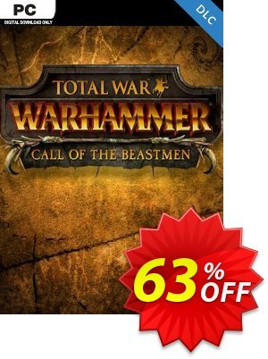 Total War WARHAMMER – Call of the Beastmen Campaign Pack DLC 優惠券,折扣碼 Total War WARHAMMER – Call of the Beastmen Campaign Pack DLC Deal 2021 CDkeys,促銷代碼: Total War WARHAMMER – Call of the Beastmen Campaign Pack DLC Exclusive Sale offer for iVoicesoft