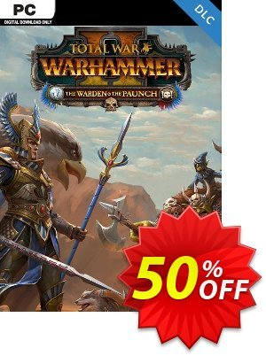 Total War Warhammer II 2 - The Warden and The Paunch PC - DLC (EU) discount coupon Total War Warhammer II 2 - The Warden and The Paunch PC - DLC (EU) Deal 2021 CDkeys - Total War Warhammer II 2 - The Warden and The Paunch PC - DLC (EU) Exclusive Sale offer for iVoicesoft
