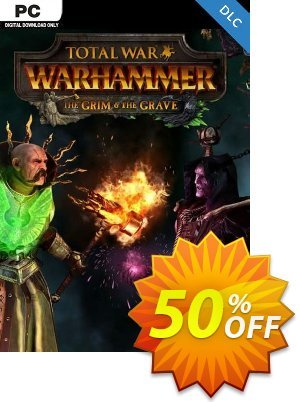 Total War WARHAMMER – The Grim and The Grave DLC discount coupon Total War WARHAMMER – The Grim and The Grave DLC Deal 2021 CDkeys - Total War WARHAMMER – The Grim and The Grave DLC Exclusive Sale offer for iVoicesoft