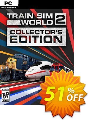 Train Sim World 2 - Collector's Edition PC discount coupon Train Sim World 2 - Collector's Edition PC Deal 2021 CDkeys - Train Sim World 2 - Collector's Edition PC Exclusive Sale offer for iVoicesoft