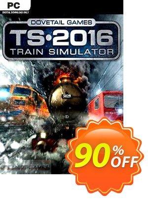 Train Simulator 2016 PC Coupon discount Train Simulator 2016 PC Deal 2021 CDkeys