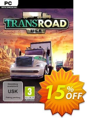 TransRoad: USA PC Coupon discount TransRoad: USA PC Deal 2021 CDkeys
